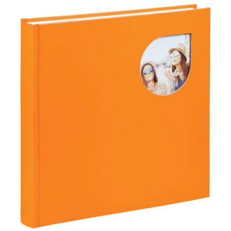 Hama foto album Cumbia, 30 x 30 cm, 80 strani, oranžen