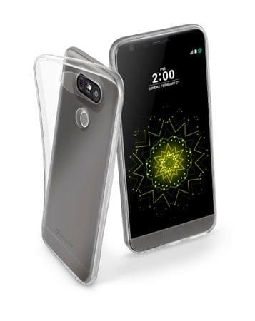 CellularLine ovitek Fine za LG G5, prozoren
