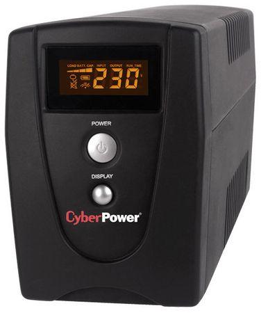 CyberPower Zasilanie awaryjne UPS 1000VA/550W LCD (VALUE1000EILCD)