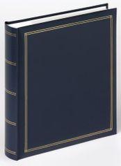 Walther fotoalbum Monza, 13x18, plavi