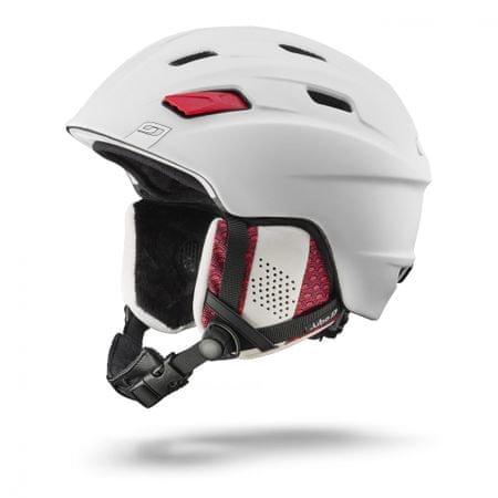 Julbo kask narciarski Mission White-Red 54/56