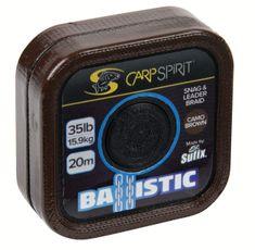 Carp Spirit Návazcová Šňůra Ballistic Camo Brown 20 m