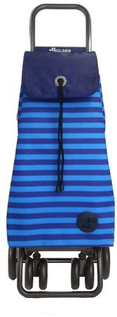 Rolser Nakupovalna torba na kolesih I-Max Marina Logic RG, modra