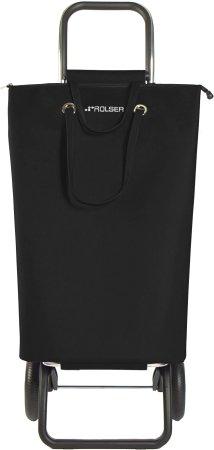 Rolser Nakupovalna torba na kolesih SuperBag Logic RG, črna