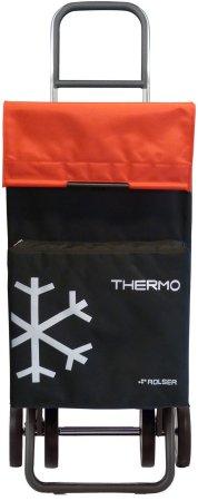 Rolser Nakupovalna torba na kolesih Termo Fresh MF Dos +2, rdeča