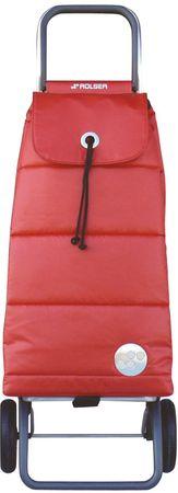 Rolser Nakupovalna torba na kolesih Pack Polar Logic RG, rdeča