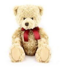 Rappa pluszowy niedźwiedź siedzący, retro 28 cm