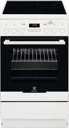 Electrolux kuchnia elektryczna EKC54952OW PlusSteam