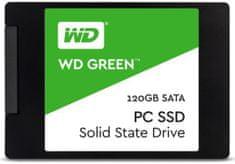"""Western Digital SSD disk Green SATA3 6,35cm (2,5""""), 120 GB (WDS120G2G0A)"""