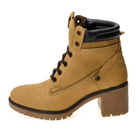Wrangler dámská kotníčková obuv Sierra Nubuck 40 žltá