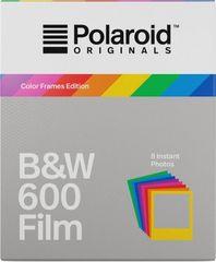 POLAROID Originals 600 Black/White 8 db + színes keretek