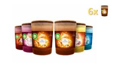 Air wick Life Scents Prémium Illatgyertyacsomag, 6 féle illat