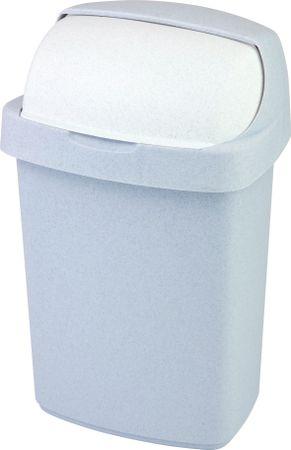 CURVER Koš za smeće Roll top 25 L, sivi