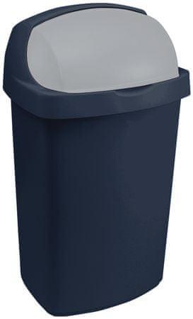 CURVER Kosz na śmieci Roll Top 25l niebieski