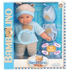 Smily Play Lalka Bambolina mówiąca 50 słów, niebieska