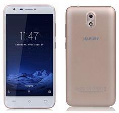 Cubot mobilni telefon Hafury Mix, Dual SIM, zlatni