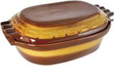 Orion Pekáč keramika glazura s víkem, 6 l