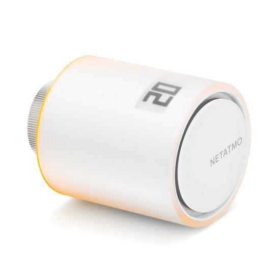 Netatmo Single Valve - chytrá termostatická hlavice