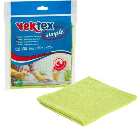 Vektex 10 x Simple Mikroszálas törlőkendő 30 x 30 cm