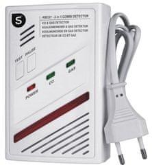 Smartwares Kombinovaný senzor – Plyn a CO2 (batérie 5rokov)