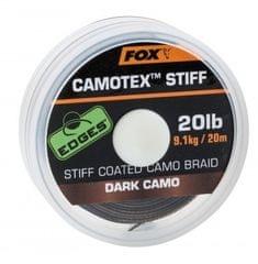 Fox Návazcová Šňůrka Camotex Dark Stiff 20 m