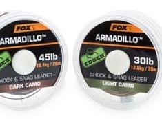 Fox Návazcová Šňůrka Armadillo 65 lb Camo 29,5 kg 20 m