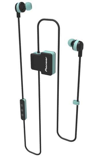 Pioneer SE-CL5BT-GR bezdrátová sluchátka, světle zelená