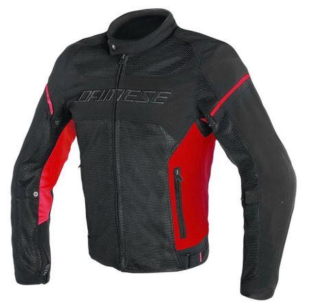Dainese bunda AIR-FRAME D1 TEX vel.48 černá/červená, textilní