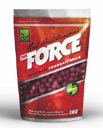 ROD HUTCHINSON Boilies The Force Food Bait 1 kg, 15 mm