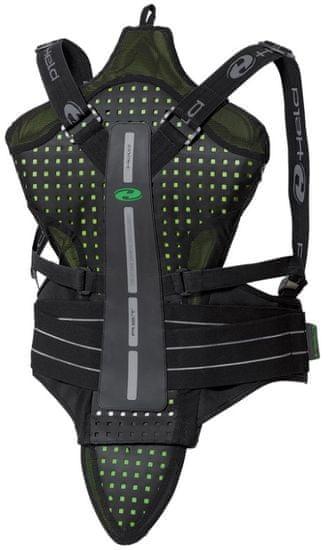 Held chrbticový moto CE chránič Sakar vel.XXL čierna/zelená