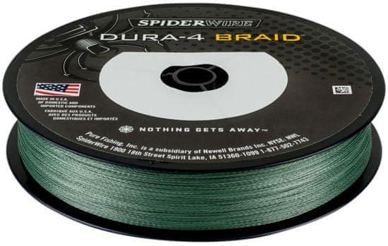 Spiderwire Splétaná Šňůra DURA4 150 m Green 0,20 mm, 17 kg