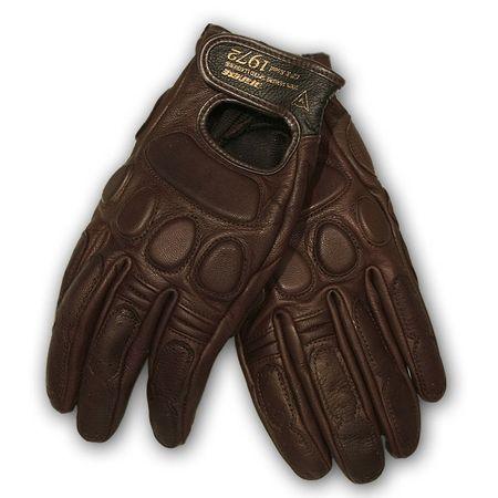 Dainese moto rukavice  BLACKJACK UNISEX hnedá, kozej kože
