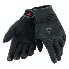 Dainese skútr rukavice DESERT POON D1 UNISEX černá, textil (pár)