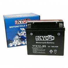 Batérie KYOTO 12V 10Ah YTX12-BS (kyslé. Náplň súčasťou balenia)