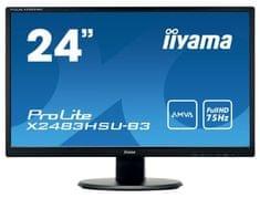 iiyama LED monitor ProLite X2483HSU-B3