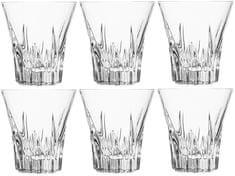 RCR čaše za viski Crystal Fluente, 310 ml, 6 komada