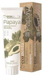 Ecodenta pasta do zębów wybielająca BIO papaya - 100 ml