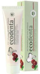 Ecodenta Osviežujúca zubná pasta proti zubnému kameňu 2v1 s brusnicami a Kalidentom 100 ml