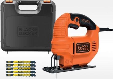 Black+Decker KS501KA-QS Kompakt dekopírfűrész, 400 W