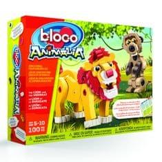 Bloco sestavljiva igrača Lev in surikata
