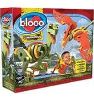 Bloco sestavljiva igrača Velociraptor in Pterozaver