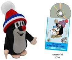 MÚ BRNO Krtko 25cm čiapka + DVD