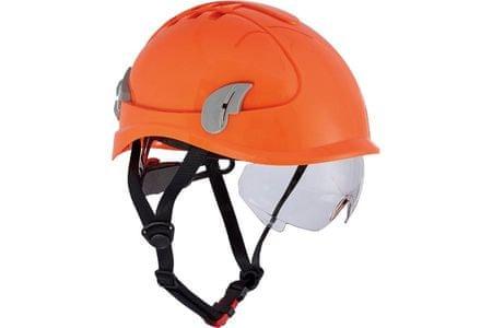 Červa Ochranná přilba Alpinworker pro práci ve výškách HV oranžová