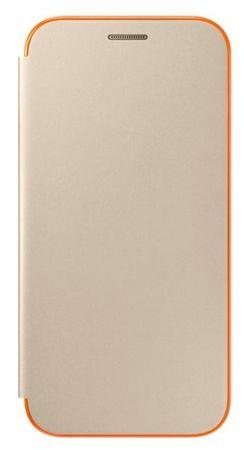 SAMSUNG Flip neon tok az A5 2017, EF-FA520PFEGWW, Gold számára