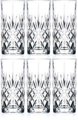 RCR szklanki Crystal Melodia 350 ml, 6 szt
