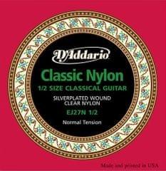 Daddario EJ27N 1/2 Nylonové struny na klasickú gitaru