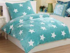 Jahu my House obliečky mikroplyš Stars mint