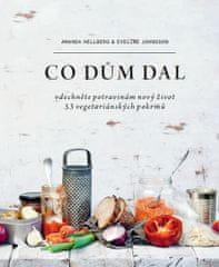 Hellberg Amanda, Johnsson Eveline,: Co dům dal - Vdechněte potravinám nový život, 53 vegetariánských