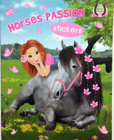 Horses Passion 1 - Milujeme koníky - Omalovánky a samolepky