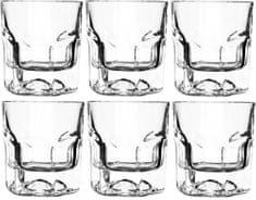 RCR čaše za viski Crystal Provenza, 185 ml, 6 komada